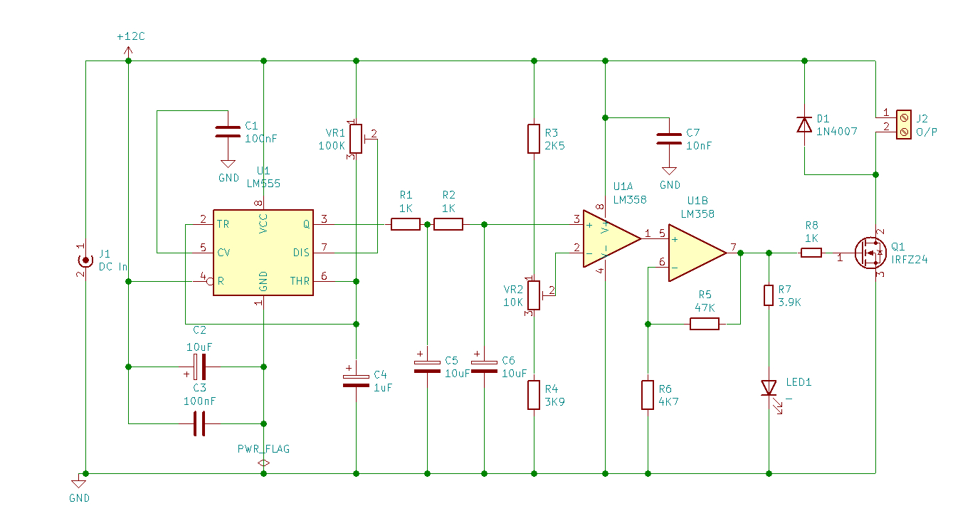 PEMF Circuit Diagram